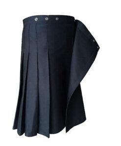 Black Formal Police Utility Kilt