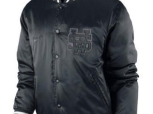 Black Nike Sportswear Varsity Destroyer Herren Jacke Collegejacke NSW Jacket (2)