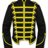 Mens-Yellow-Black-Military-Marching-Band-Drummer-Jacket-New-Style-Front-510×600