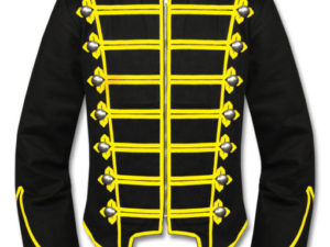 mens military drummer jacket