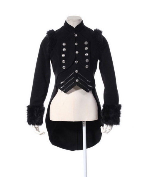 New Gothic Victorian Steampunk Military Drummer Boy Tailcoat Jacket Pirate (4)