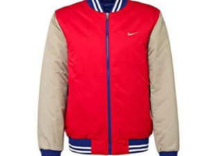 Nike Bomber Jacket Padded Coat AD Reversible Varsity Letterman