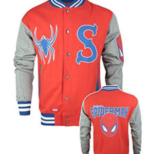 Official Spider-Man Men's Varsity Jacket