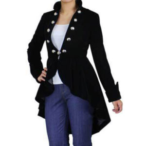 Style-Plus-Size-Black-Gothic-Flocking-Velvet-Asymmetry-Jacket-front-510×600