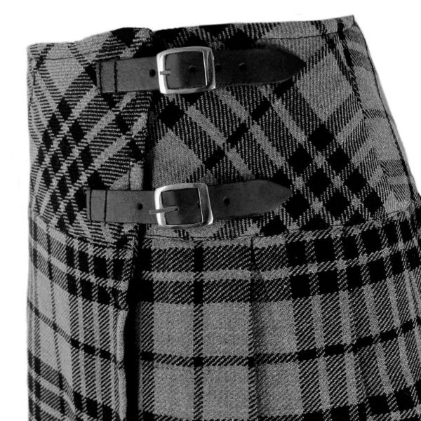 billie-granite-gray-tartan-scottish-kilt-close