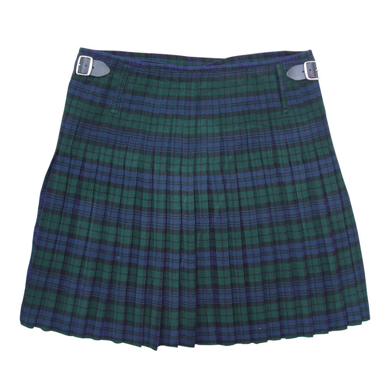 scottish-5-yard-acrylic-highland-casual-kilt-black-watch