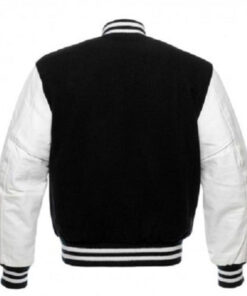Patchwork Fleece Varsity Baseball Jacket College American Style Coat
