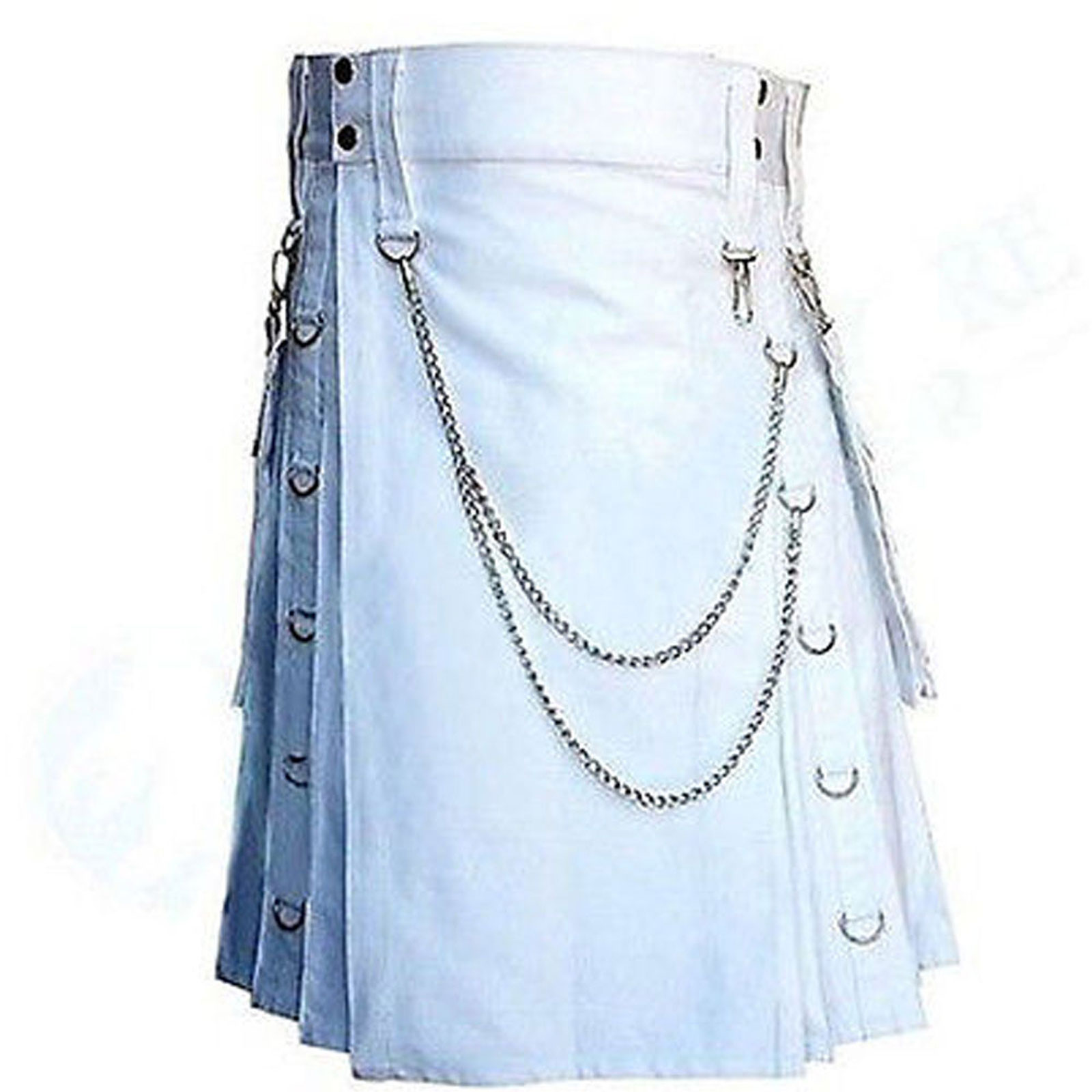 white-wedding-kilt-with-detachable-pocket-front