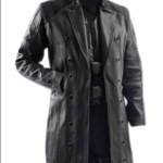 Adam Jensen coat mankind divided Trench coat Deus Ex Human Revolution Game Leather Trench Coat Jacket