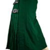 Irish Traditional Solid Green Kilt