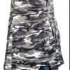 Urban Military Camo Utility Kilt for sale