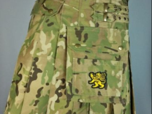 Army Green Camouflage Kilt