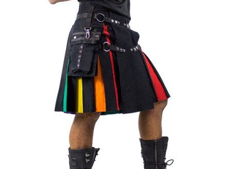 rainbow kilt for sale