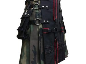 Interchangeable Camouflage Utility Gothic Kilt (2)