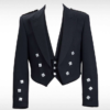 Prince Charlie Jacket with 3 Button Vest Black (1)