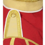Red Buff Fancy Doublet Piper Jacket with Gold Trim2