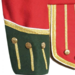 Red Green Fancy Doublet Piper Jacket with Gold Trim3